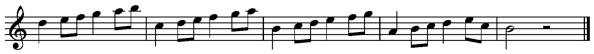 Setup example from Vivaldi Winter